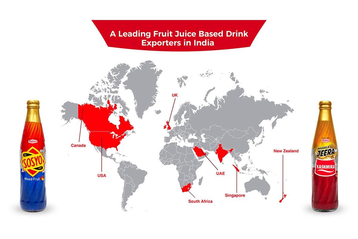 Hajoori: A Leading Fruit Juice Based Drink Exporters in India