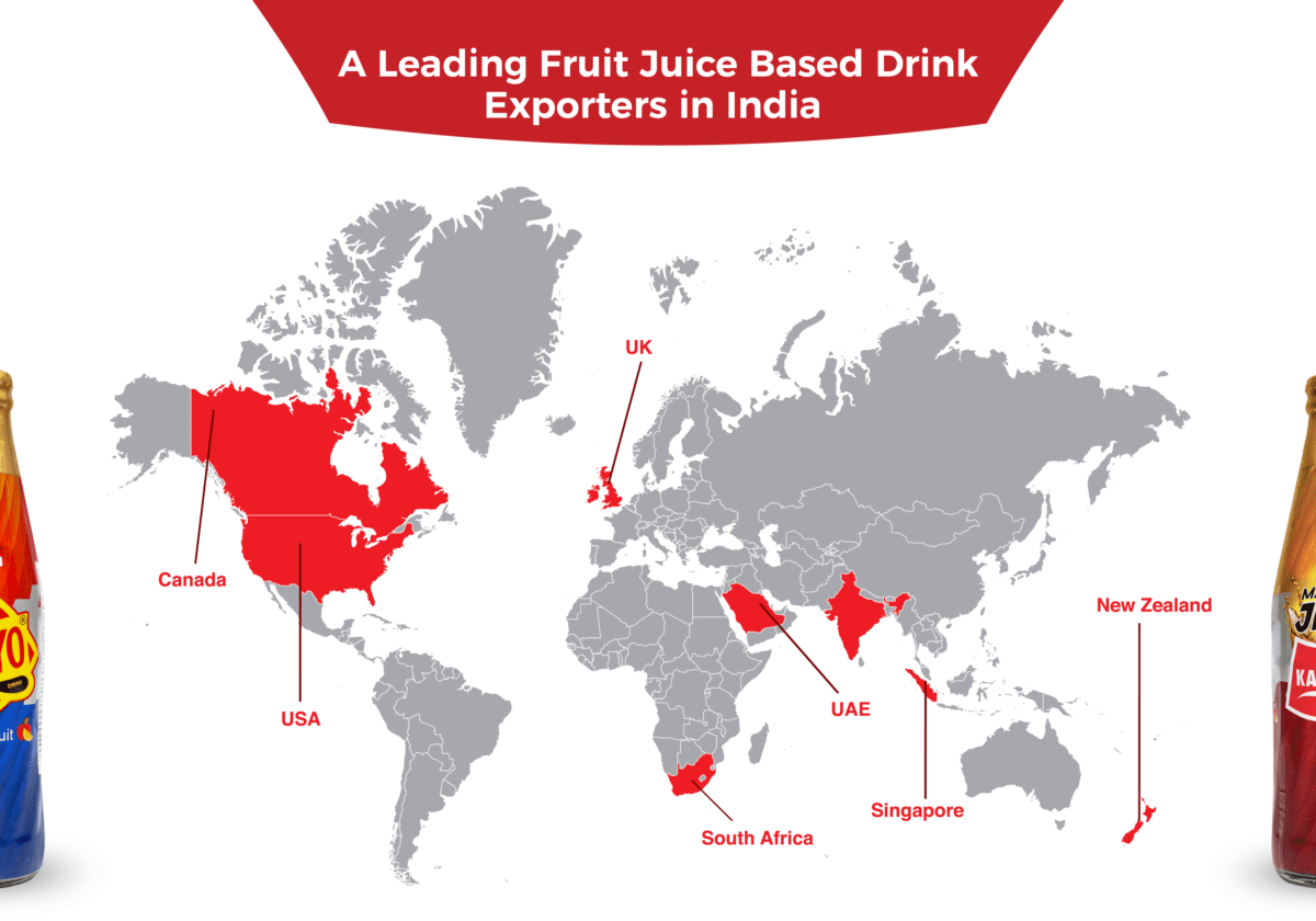Hajoori: A Leading Fruit Juice Based Drink Exporters in India