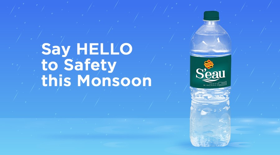 Say HELLO to SAFETY this Monsoon