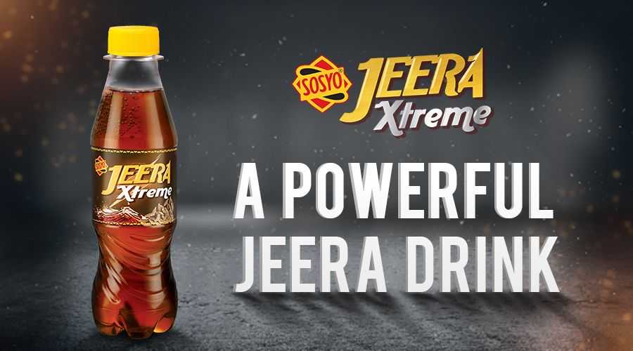 Sosyo Jeera Xtreme - A Powerful Jeera Drink
